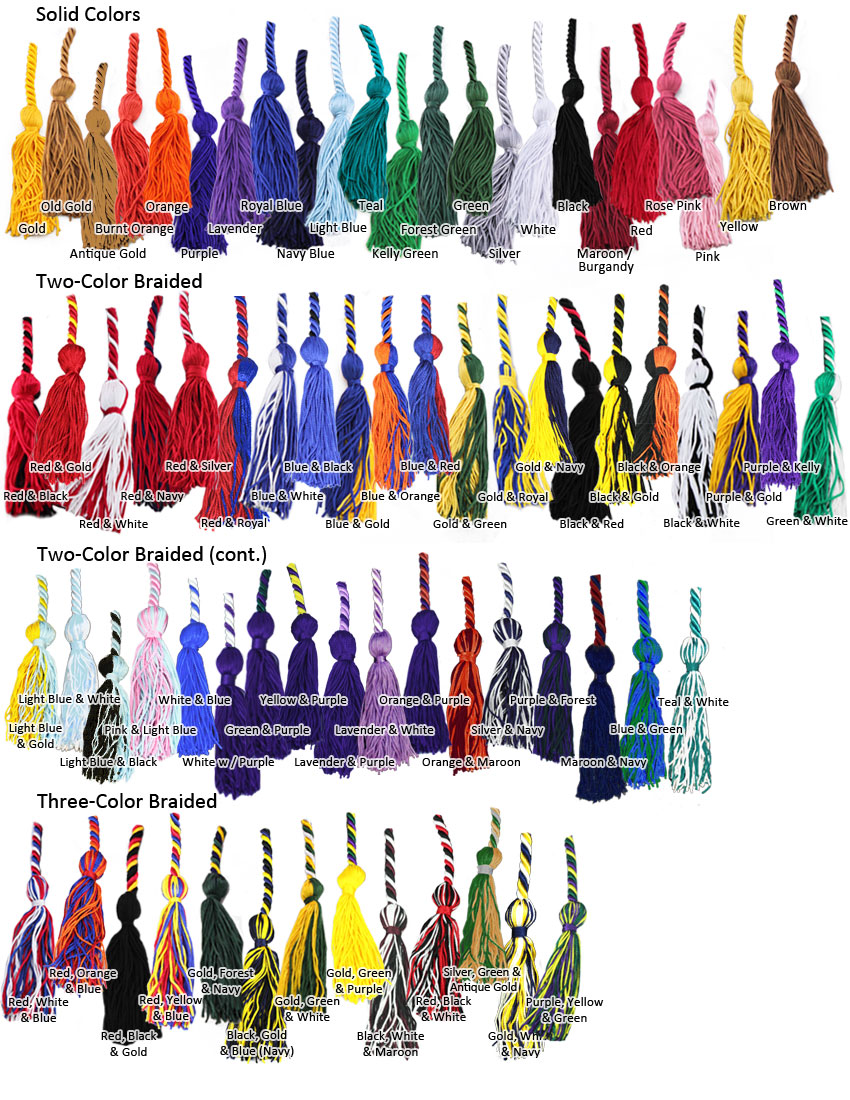 Graduation Cord Colors & Meanings | Honor Cord Colors