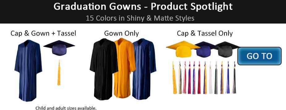 Graduation Stoles & Cords - Caps & Gowns, Tassels, Honor Cords
