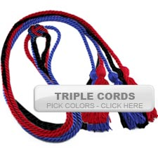 Graduation Cords - Triple