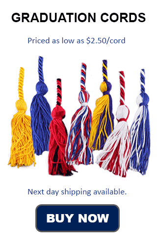 Beta Club Graduation Cord Comparison