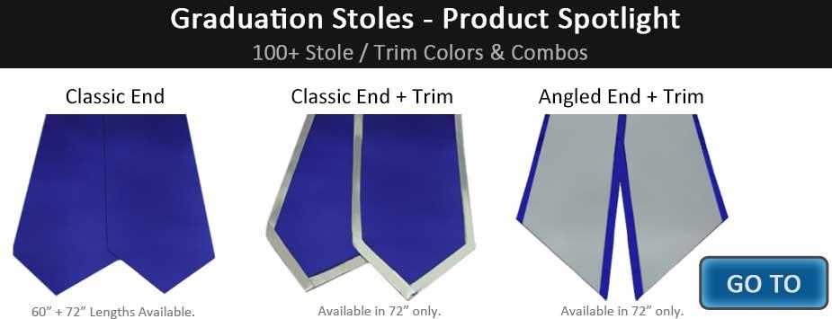 151973f539 Graduation Stoles & Cords - Caps & Gowns, Tassels, Honor Cords