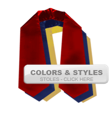 Graduation Cords & Gowns - Graduation Stoles, Tassels, Honor Cord