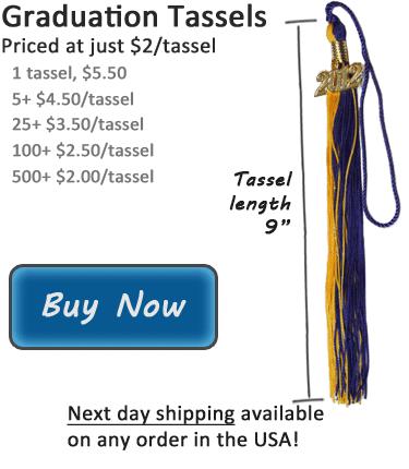 Graduation Tassels Colors & Meanings | Tassel Colors